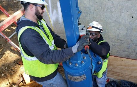 """Cryostop - 18"""" Line Stop on HDPE pipe"""
